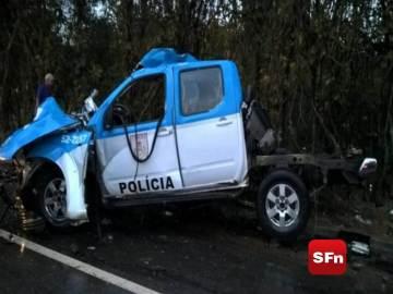 acidente colisão viatura r