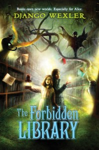 My latest, the middle-grade fantasy The Forbidden Library!