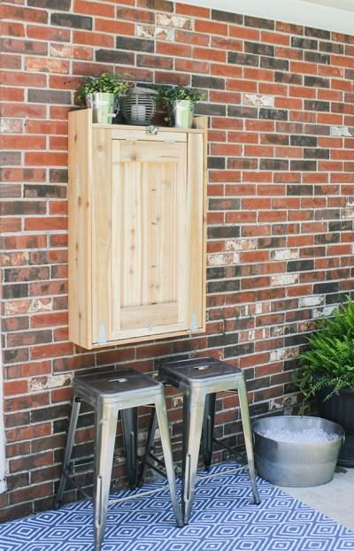 How to Build an Outdoor Murphy Bar