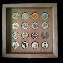 Small Of Challenge Coin Display Case