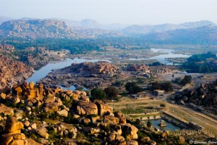 Hampi_Diaries_Matanga_Hill-View