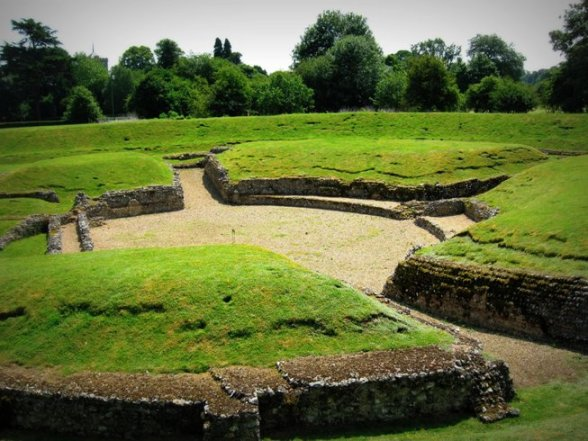 Roman Theatre at  Verulamium