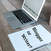 Blogger or Writer: What say you?