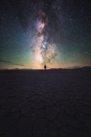 Alvord Desert Milky Way Galaxy Playa