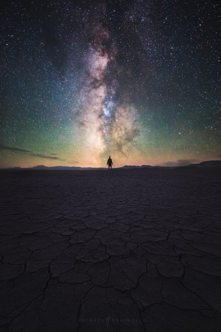 Alvord Desert Milky Way Galaxy Playa