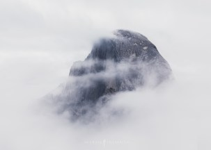 Yosemite timelapse clouds