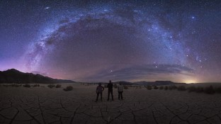 Milky Way Galaxy Death Valley