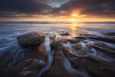La Jolla Coves Sunset.