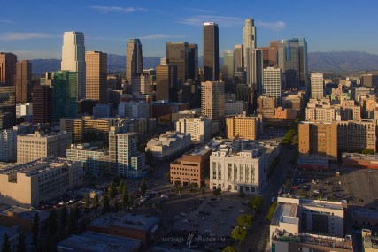 Downtown Los Angeles Skyline City
