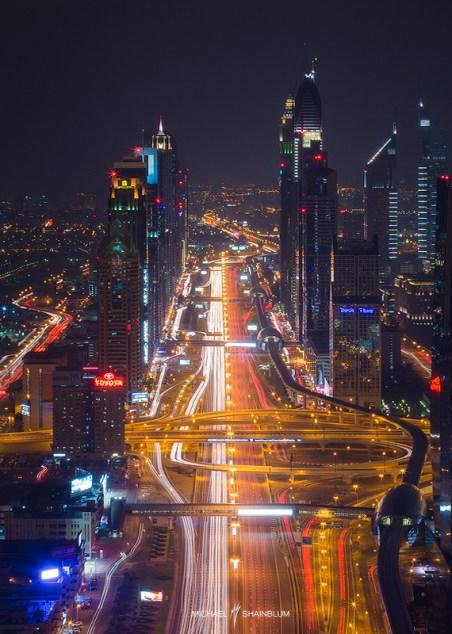 Dubai City Night