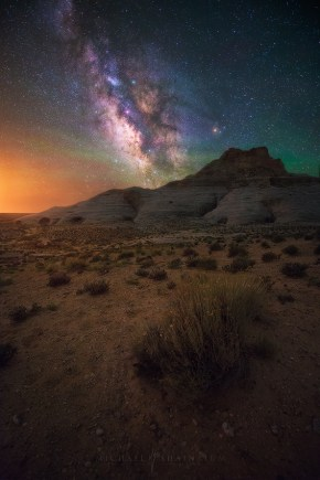 Milky Way Arizona Desert