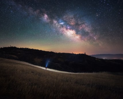 Hunting the Milky Way Galaxy in California.