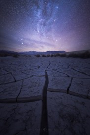 Milky Way, Galaxy, Death Valley