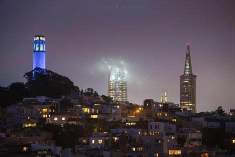 san francisco long exposure night photography