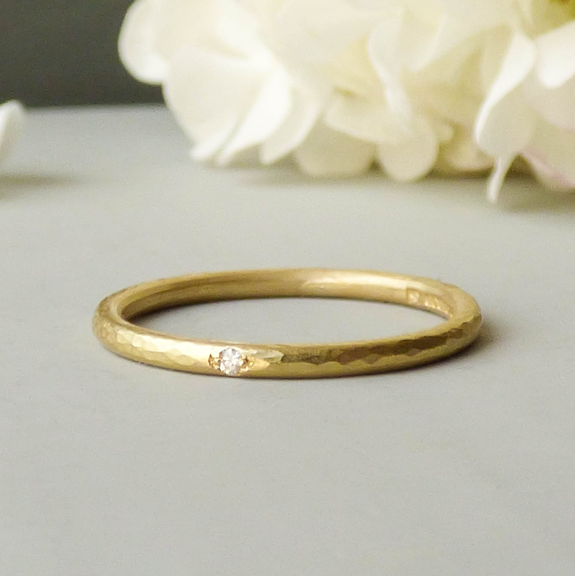 ethical wedding rings harley davidson wedding bands Coco Ethical Wedding Ring In 18ct Fairtrade Gold Shakti Ellenwood