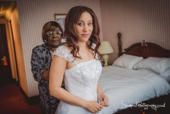 wedding photography at Britannia The International Hotel in Canary Wharf in London