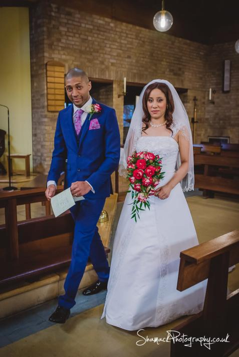 wedding photography at St Mary And St Ethelburga in Barking