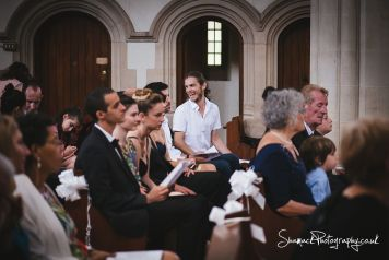 wedding photography St. Edward the Confessor Church in London interfaith Chatholic / Jewish wedding at Hunton Park in Watford Hertfordshire.