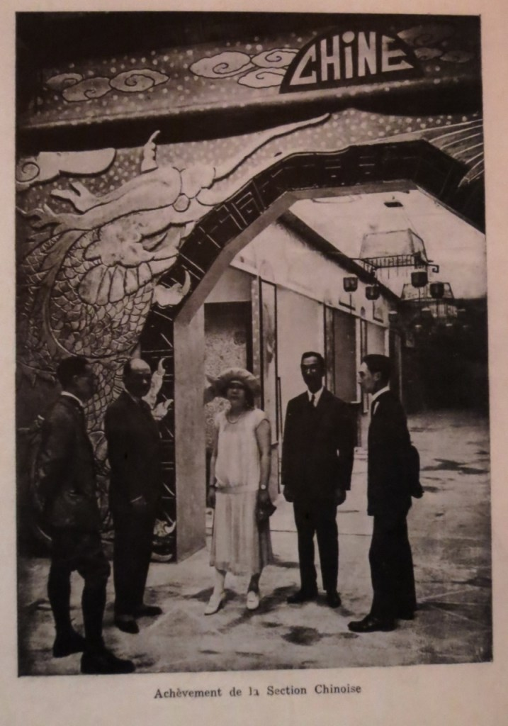Li Jipiao at 1925 Art Deco Exposition-photo