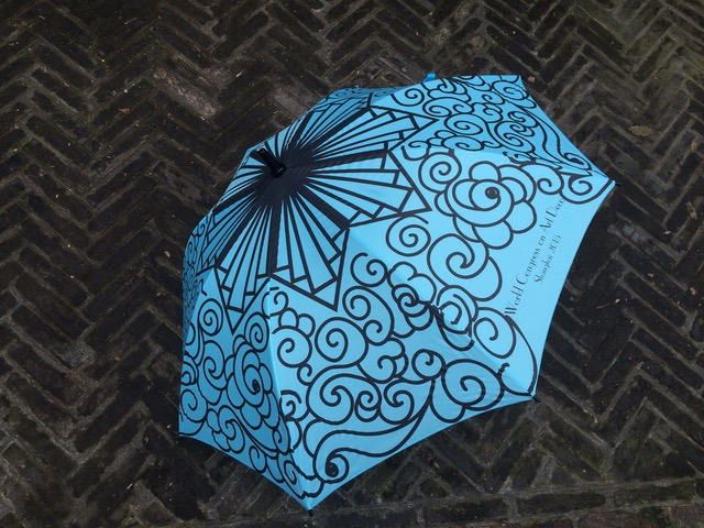 The Shanghai Art Deco Signature Umbrella