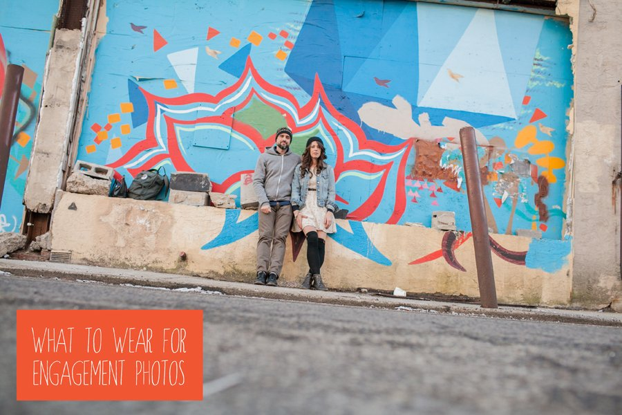 what to wear, engagement photos