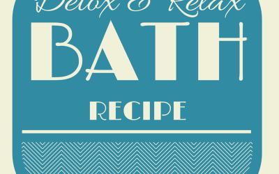 Detox Relax Bath Recipe