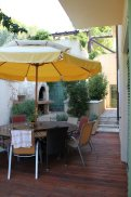 Beautiful outdoor kitchen area