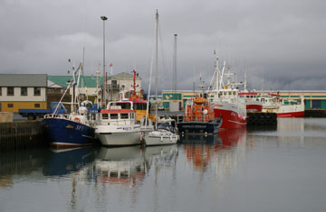 Fishing and tourism are still the primary drivers behind Iceland's economy, and there's just no way to make fishing an easy or safe profession. For those that have grown up in this country, though, it's just part of the deal.