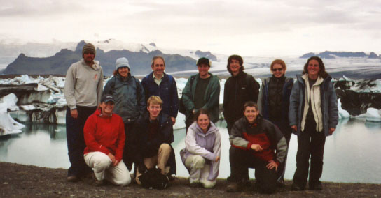 Skaftafell group photo