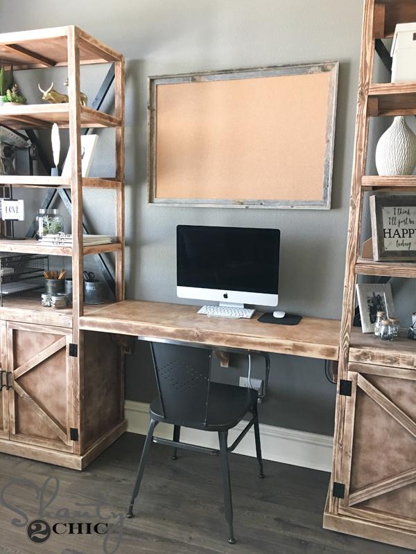 diyofficedeskwithstorage diy office desk i