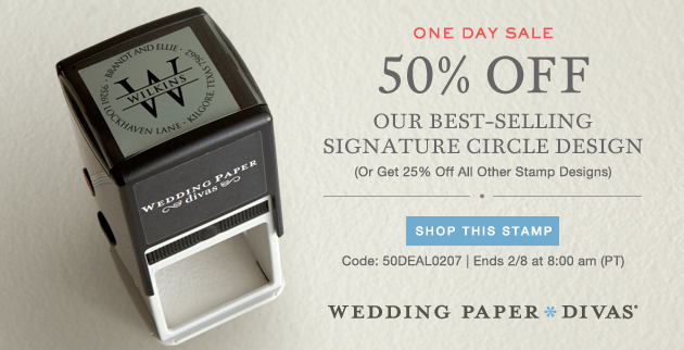 Wedding Paper Divas Deal of the Day