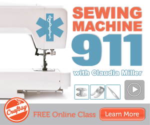 FREE Online Sewing Class