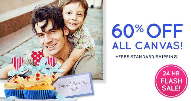 60% off Sitewide + Free Shipping Sitewide at EasyCanvasPrints.com. May 30th only!