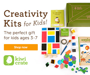Creative Kits for Kids, delivered right to your door! shop now>>