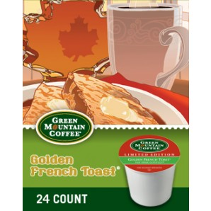 Golden French Toast Keurig K-cup coffee