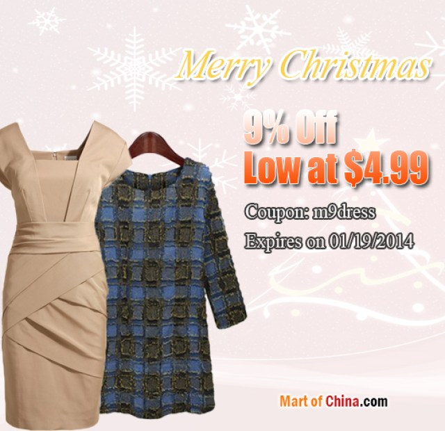 9% Off Dress Christmas 526*510