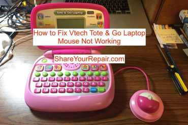 How to Fix Vtech Tote and Go Laptop Mouse Not Working