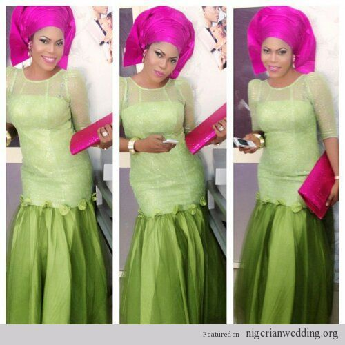 10 Beautiful Aso-Ebi Styles to Rock to Weddings Before the Year Ends