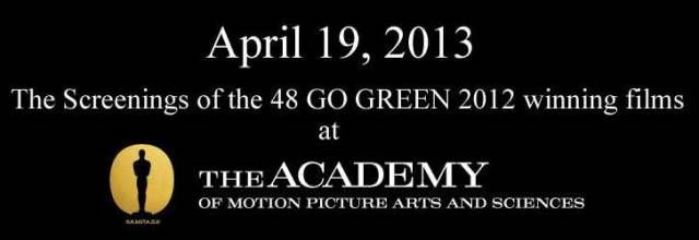 Go Green Academy Screening