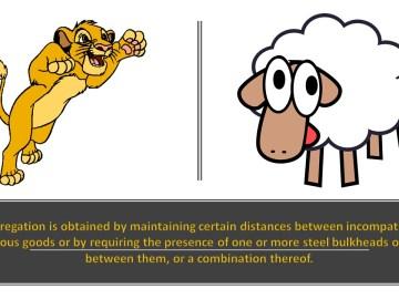 Segregate Lion and Lamb
