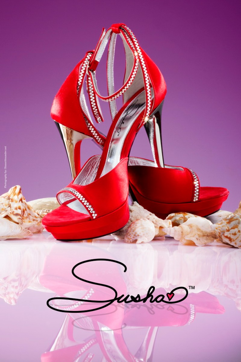 RED SHOE- PRODUCT PHOTOGRAPHY