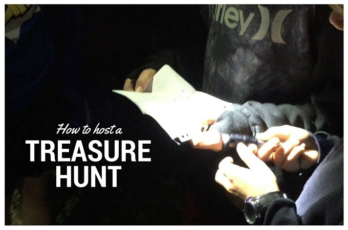 How to host a treasure hunt 2
