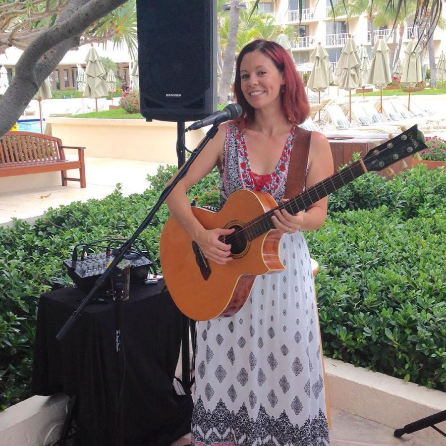 Sang some songs at Four Seasons Palm Beachs Atlantic Barhellip
