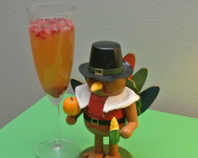 Sparkling Apple Pear Cocktail