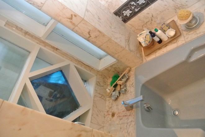 ward bathroom before