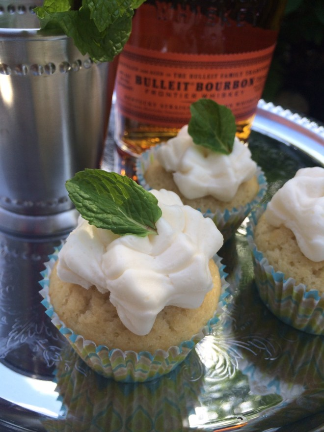 Mint Julep Cupcake