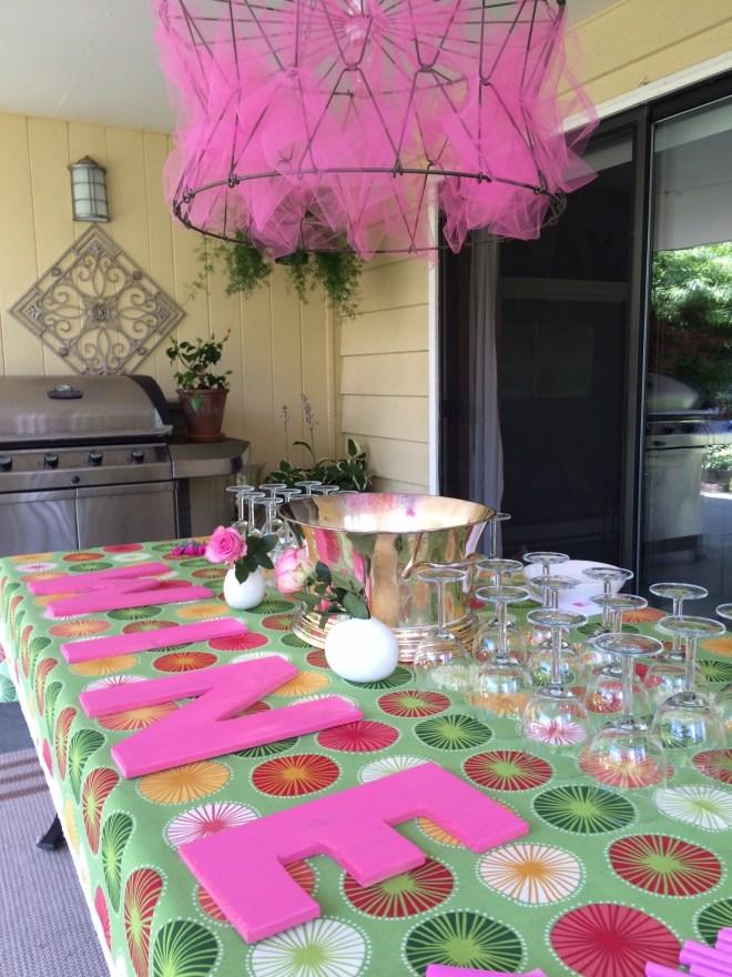 rosé table