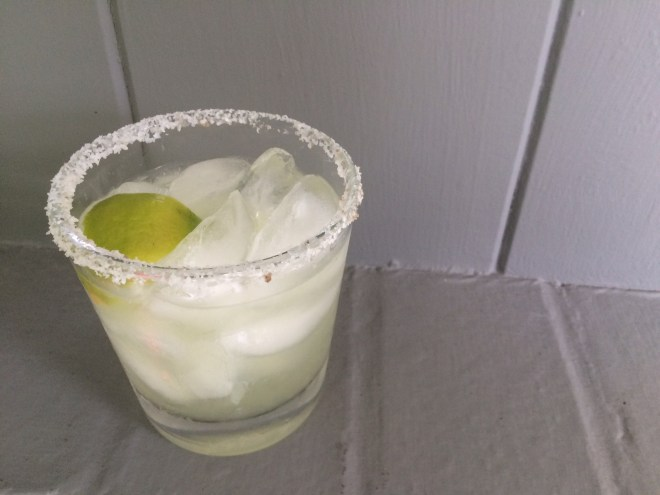 Spicy Sweet Smoky Margarita