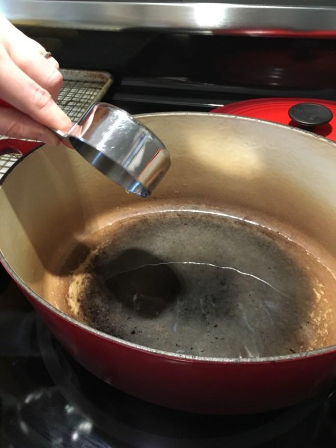 1 Heat the Oil