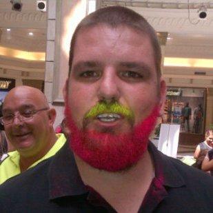 Henri, sporting a very red beard